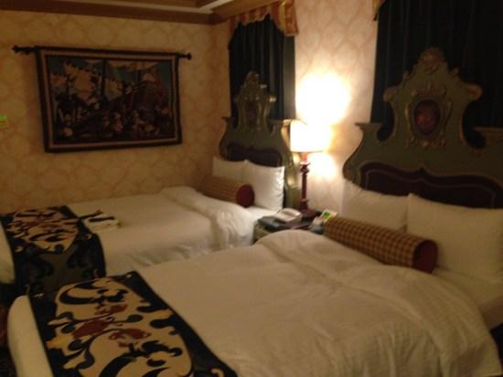 ミラコスタの部屋