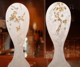 i 'forchettoni' creati da Francesco Chimienti nella serata Girogustando al Convito di Curina (Castelnuovo Berardenga)