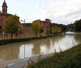 alluvione a Buonconvento