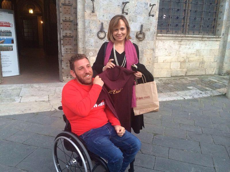 Via Francigena: l'impresa di Pietro arriva a Proceno