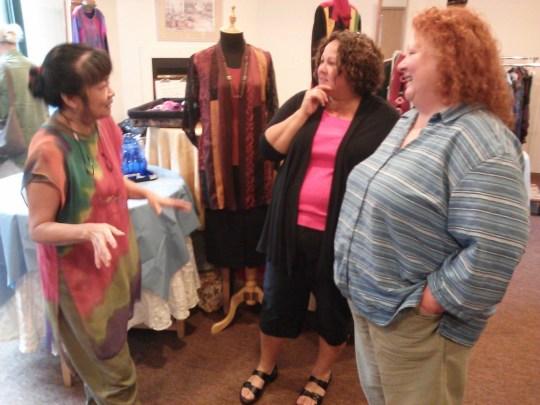 Northwest Art Alliance meeting at Dorothy Skea's studio, photo by Ann-Marie Stillion