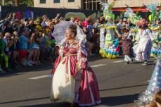 Карнавал на Тенерифе — дама в костюме