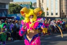 Главное шествие карнавала на Тенерифе в 2016 году — костюмы мифических персонажей