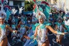 Главное шествие карнавала на Тенерифе в 2016 году — танцы в ярких костюмах