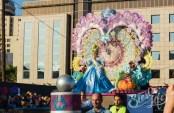 Главное шествие карнавала на Тенерифе в 2016 году — победительница детского конкурса королевы карнавала