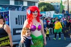 Главное шествие карнавала на Тенерифе в 2016 году — Русалочка