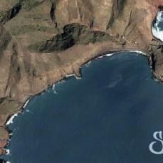 Вид со спутника пляжа Антекьера