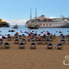 Пляж Лос Кристанос