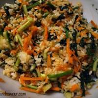 SUSHI RICE SALAD- Vegan, Gluten-Free & Sugar-Free