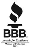 Sign-Ups joined the BBB in 2011 and has been awarded each year.