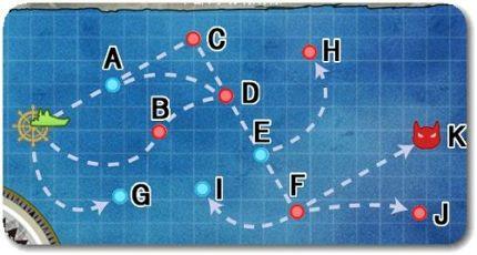 「潜水艦隊」出撃せよ!6-1マンスリーを阿武隈・噴式活用で攻略
