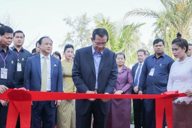 inauguration The Royal Sand Koh Rong1