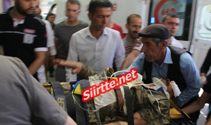 Siirt'te ki EYP Patlaması 1 Şehit 4 Yaralı