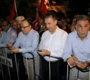 Siirt'te Teröre Karşı Huzur Nöbeti