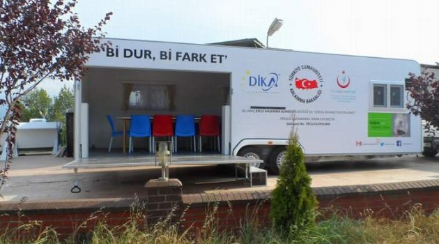 """Sosyal Rehabilitasyon Aracı"""" projesi"""