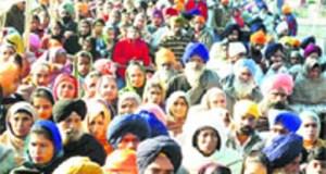 Devotees throng the Fatehgarh Sahib gurdwara on the Martyrdom Day of Sahibzada Zorawar Singh and Sahibzada Fateh Singh