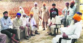 Evicted Sikh farmers in Haryana to boycott polls.