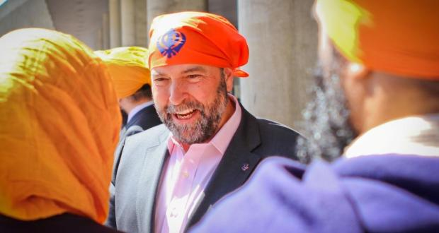 Opposition leader Tom Mulcair