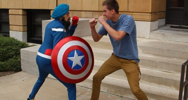 Captain America On a Not So Stereotypical Mission