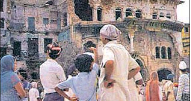 As per story in The Caravan, Indira approved army action with reluctance, regretted it after seeing images of damaged Golden Temple