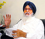 Parkash Singh Badal, Punjab CM