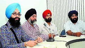 Ravneet Singh, India project manager, EcoSikh, and Ranjodh Singh, Punjab Convener, and others talk about the Gurpurb celebrations in Ludhiana
