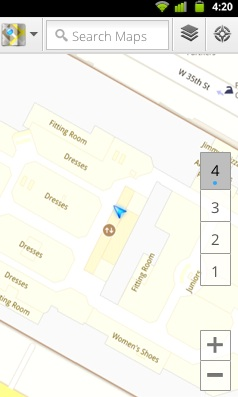 Google Maps indoors