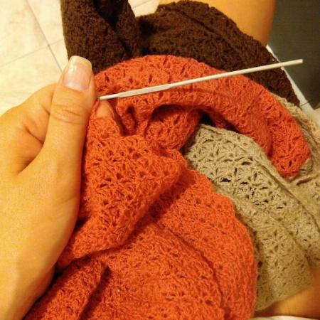 Finally got some crochet done!