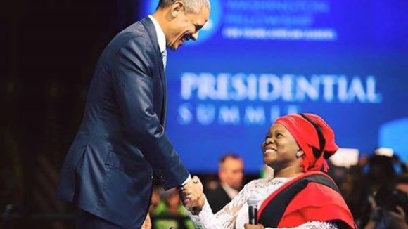 Grace Jerry's Introduction and President Obama's Remarks at the YALI Presidential Summit