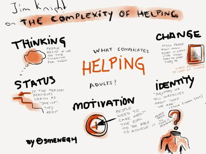the complexity of helping