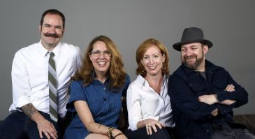 Brandon Bush, Janece Shaffer, Susan Booth, Kristian Bush: Collaborators on Troubadour