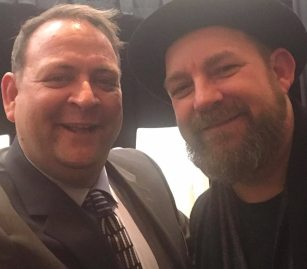 Stephen Brown with Kristian Bush