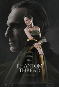 Phantom Thread movie review on Silver Screen Capture