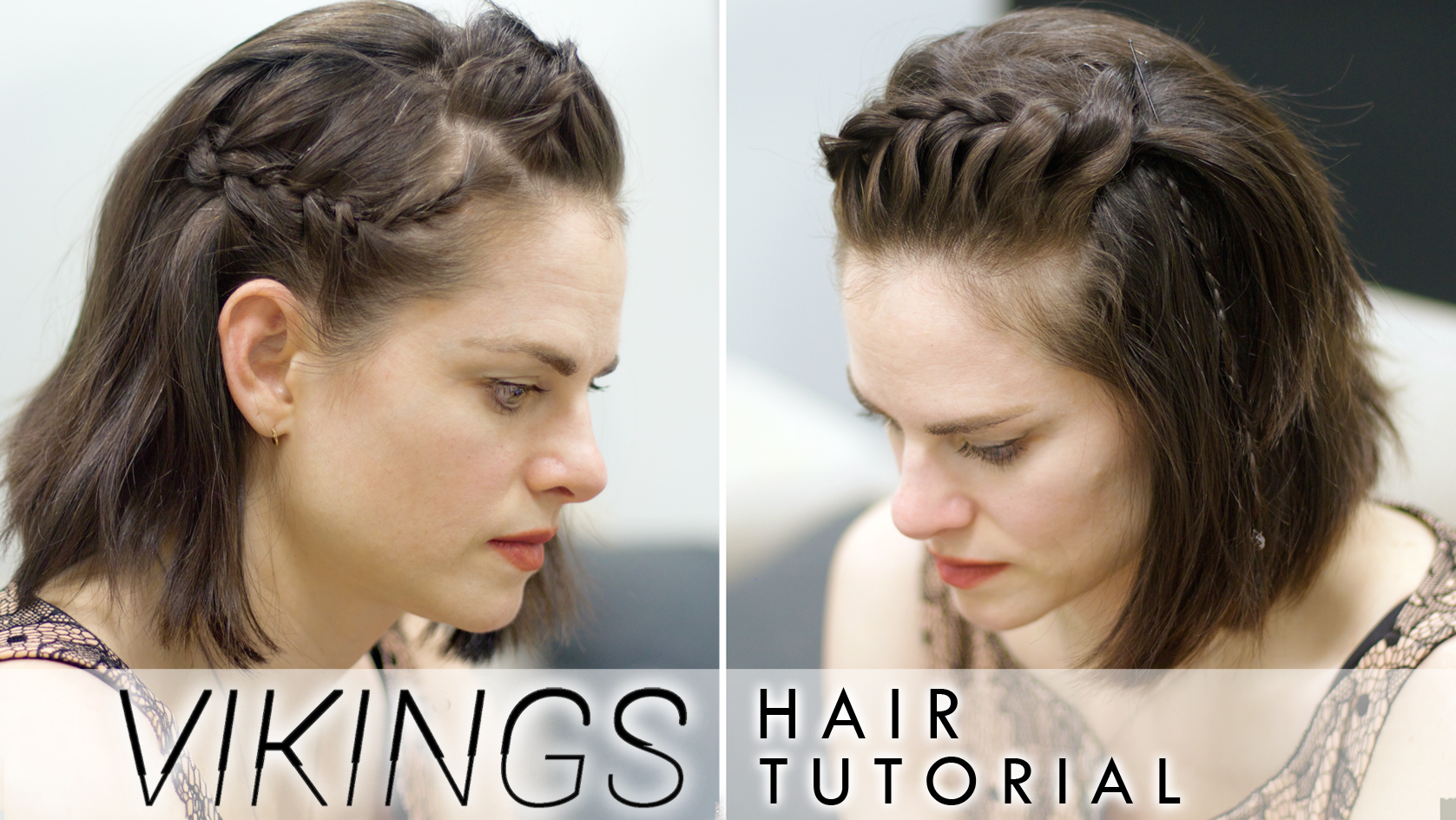 Amy Bailey on Viking Braids for Short Hair