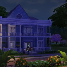 The Sims 4 House Night