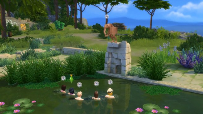 Sims 4 Skinny Dipping