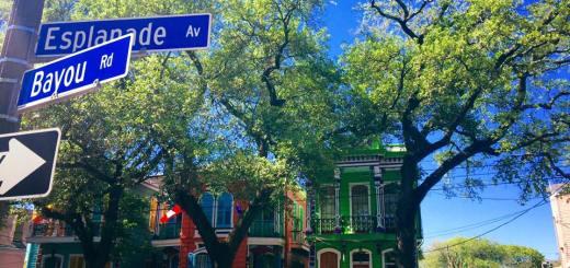 Scoprire New Orleans: tra i colori delle case creole di Espande Ave