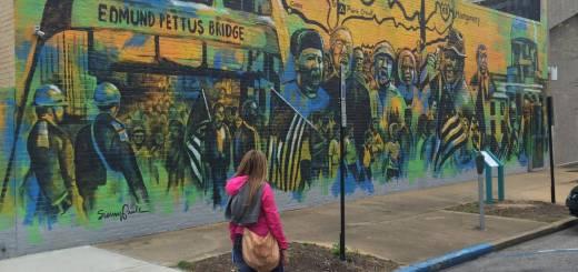 "Viaggio in Alabama: ""Selma to Mongomery"", murales"