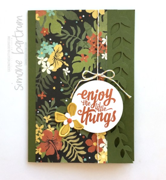 CTC61: Cut & Emboss Technique with the Botanical Builder frailest, by SimoneBartrum