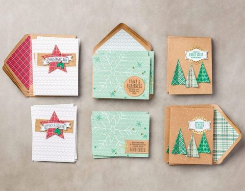 Stampin' Up! Australia - Stitched with Cheer