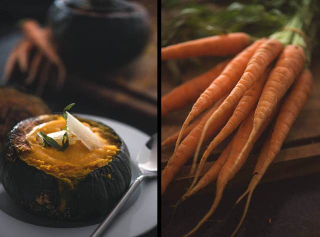 Carrot Soup Diptych