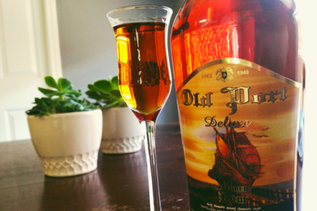 old port deluxe matured rum