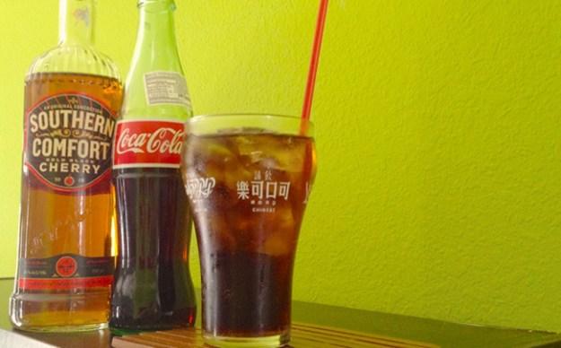 Southern Comfort Bold Black Cherry Coke