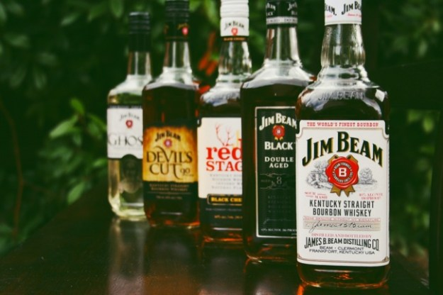 jim beam bourbons and whiskies