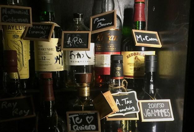 seven grand whiskey lockers