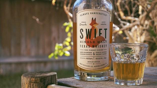 swift single malt texas whiskey