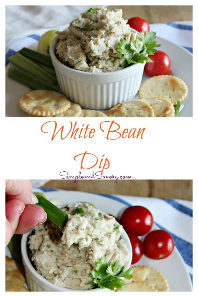 White Bean Dip - Simple And Savory