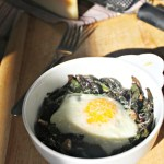 baked-eggs-and-kale-simple-and-savory