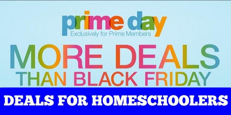 Amazon Prime Day for Homeschoolers