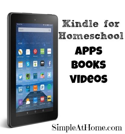 Kindle for Homeschool